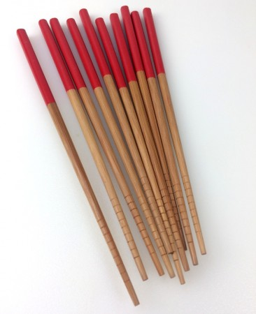 Set of 5 School of wok chopsticks