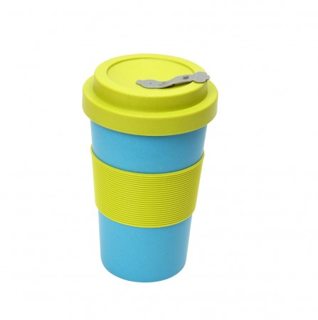 BamBroo Drinks Mug 400ml - Teal