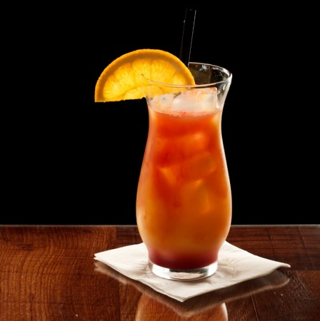 Hurricane Rum Cocktail
