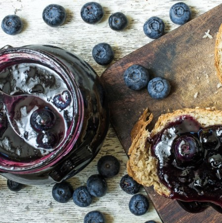 Homemade Blueberry Jam Dexam