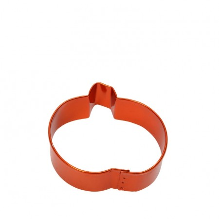 Pumpkin Cookie Cutter, 7.5cm – Orange
