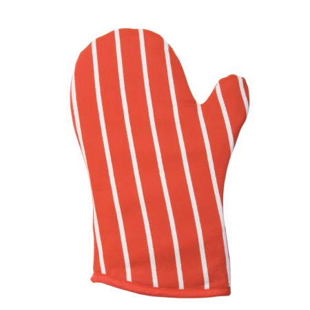 Butcher's Stripe Gauntlet - Red