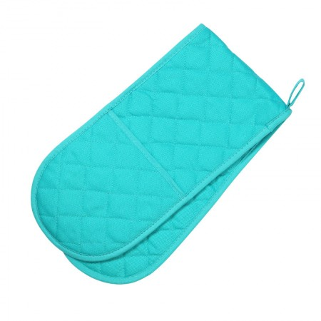 Double Oven Glove - Colour Centre Bali Blue