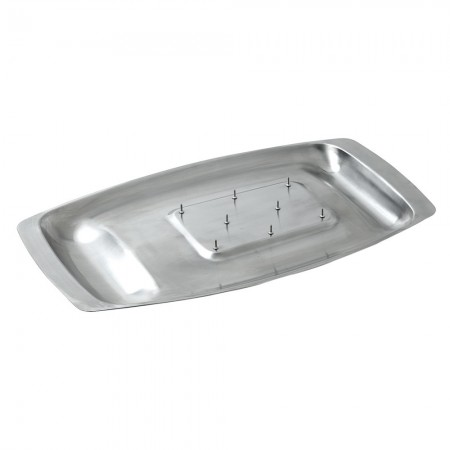 Buy the Dexam Chichester Stainless Steel Spiked Carving Dish from Dexam