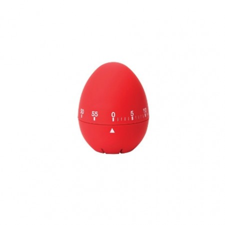 Dexam Soft Touch Timer, Red