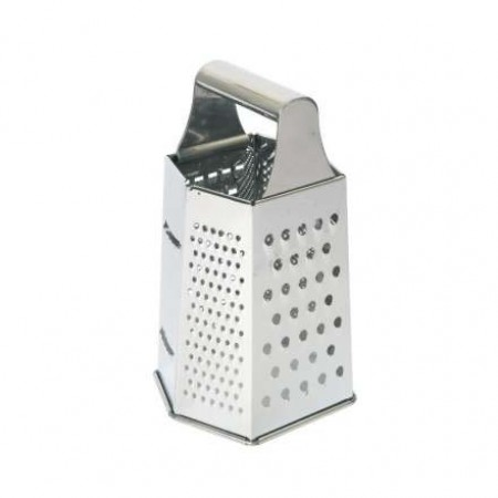 Dexam Stainless Steel Hexagonal Grater, 20cm