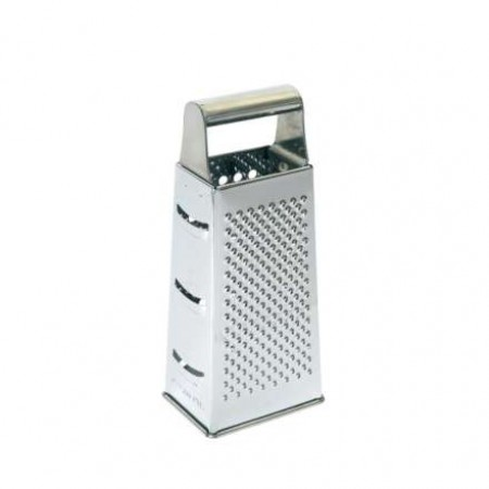 Dexam Stainless Steel Four Sided Grater, 21cm