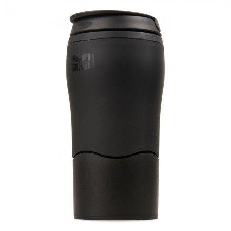 Buy the Mighty Mug Solo Travel Mug Non Spill Mug 350ml in Black - Dexam