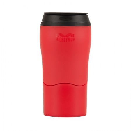 Buy the Mighty Mug Solo Travel Mug Non Spill Mug 320ml - Red - Dexam