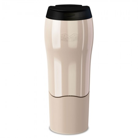 Buy the Mighty Mug Go Travel Mug Non Spill Mug 470ml - Pearl - Dexam
