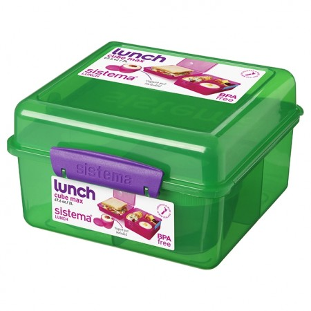 Sistema Trends Lunch Cube Max 2L - Pack of 4