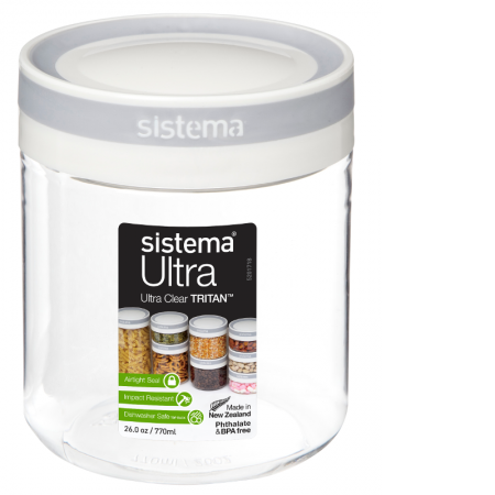Sistema 1.3L Round Tritan Canister