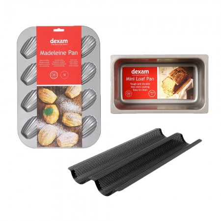 Dexam's French Baking Bundle With Free Mini Loaf Pan