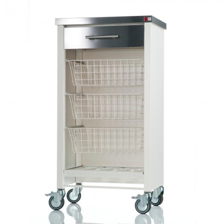 Don Hierro Chelsea Kitchen Trolley – Ivory