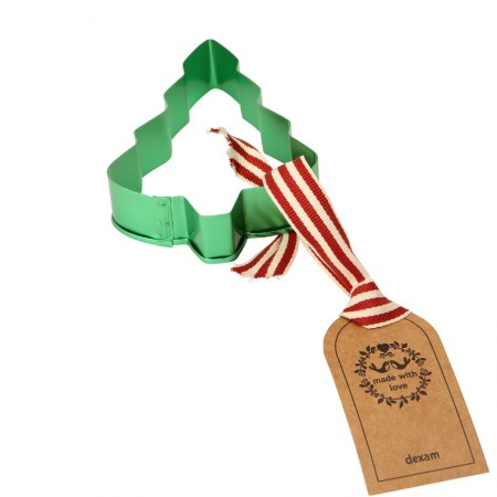 Made with Love Large Christmas Tree Cookie Cutter - Green
