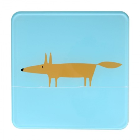 Scion Living Mr Fox Hot Pot Stand - Blue