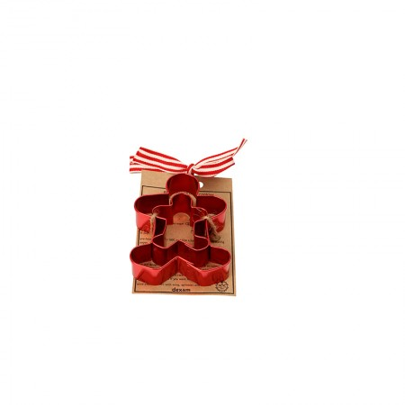set of 2 gingerbread cookie cutters