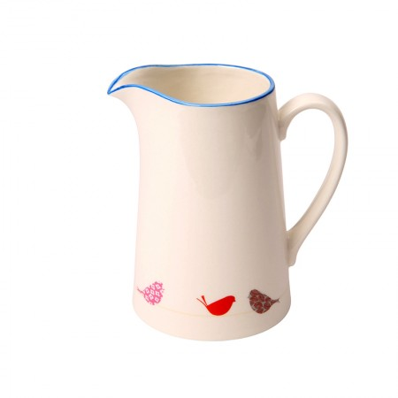 Little Birds Small Porcelain Jug - 12cm