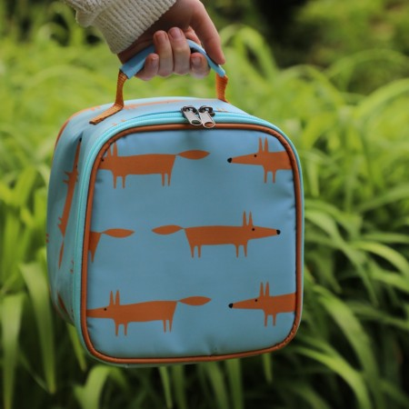 Scion Living Mr Fox Lunch Bag - Blue Dexam