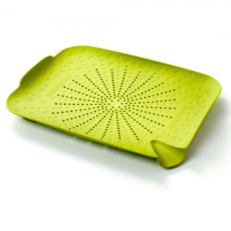 New Soda Sinkstation Flat Colander, Green