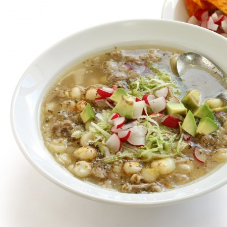 Pozole Mexican soup Dexam recipe