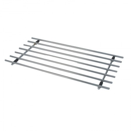 Dexam chrome rectangular trivet