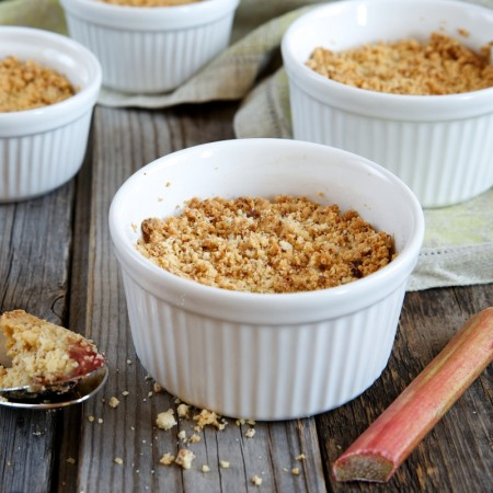 Dexam rhubarb crumble recipe