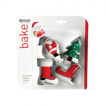 Dexam Cookie Cutter Set Santa
