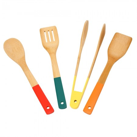 School of Wok Bamboo Tools Set of 4