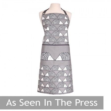 Scion Living Spike Apron - Grey as seen in the press