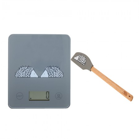 Scion Living Spike Scales and Spatula Bundle - Grey