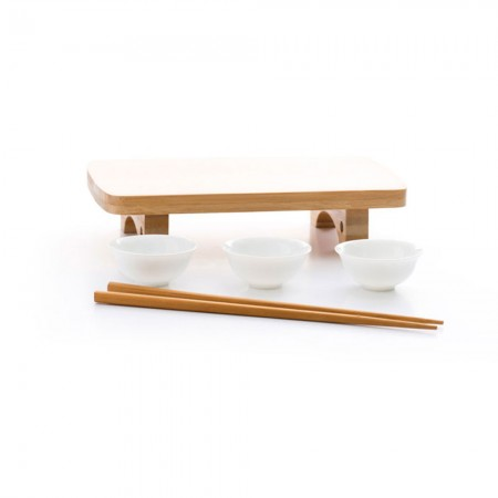 Buy the Dexam Traditional Bamboo Sushi Serving Set from Dexam UK Online