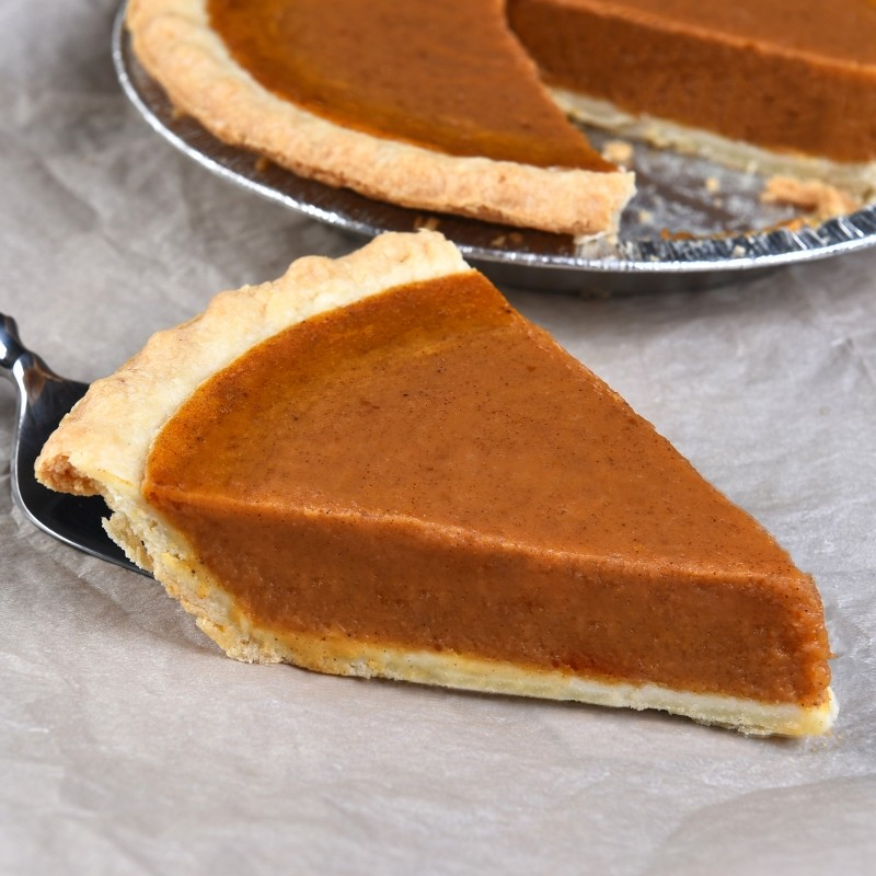 Halloween Recipes - Pumpkin Pie