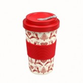 Dexam BamBroo Drinks Mug 400ml - Yuletide