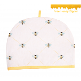 Bees Knees 6 Cup Teapot Tea Cosy, Yellow