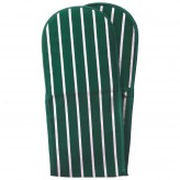 Butcher's Stripe Oven Glove Racing Green