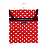 Polka Peg Bag, Red