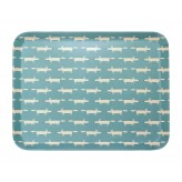Scion Living Mr Fox Bamboo Tray Teal