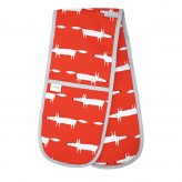 Scion Living Mr Fox Double Oven Glove - Red