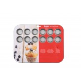 Dexam Non-Stick 24 Cup Mini Muffin Pan