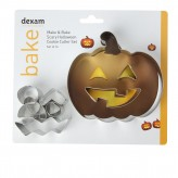Dexam Make & Bake Halloween Cookie Cutter Set