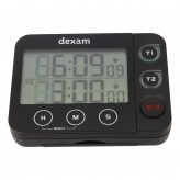 Buy the Dexam Double Display Kitchen Timer & Clock from Dexam UK Online