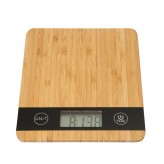 Digital Kitchen Scale, Bamboo (5kg)