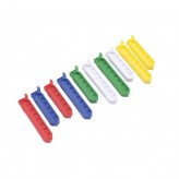Bag Clips, Set Of 10