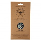 Beeswax Wraps Lunch - Pack/4 Multicoloured packaging