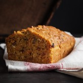 carrot and honey olive oil loaf