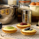 Fruit and Custard Tartlets
