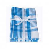 Tea Towels - Colour Centre Moroccan Blue Jumbo, Set of 3