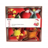 Dexam Mini Christmas Cutters Set Of 9
