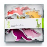 Dinosaur Cookie Cutters Set